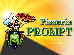 Pizzeria Prompt Logo