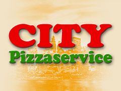 City Pizza Service Logo
